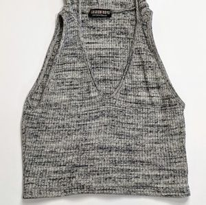 Fashion Nova Sleeveless Crop Top Size S Made in US